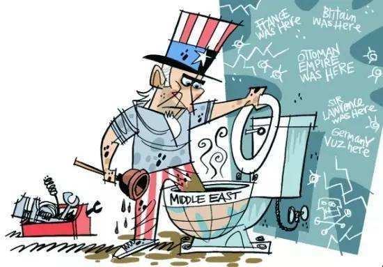 看到中东乱成这样,就需要祭出这张图了