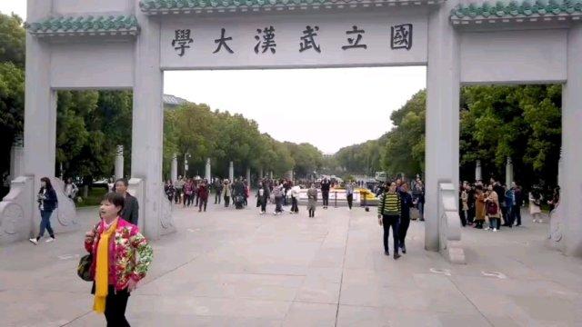 昔年武汉大学赏樱花人流如织,音乐此起彼伏,今年武大赏樱花须网上预约,待疫情结束后,大家尽情享受美好。