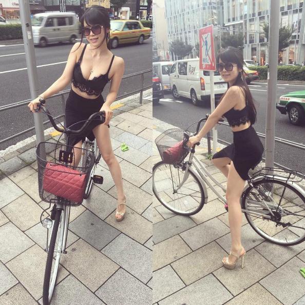 街拍性感胖女人紧身裤夏天街拍紧身裤女人图片